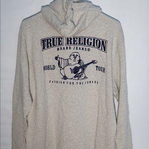 True Religion Full Zip Up Hoodie